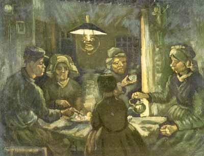 van Gogh potato eater
